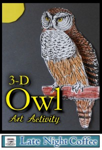 3-D Owl Art Activity