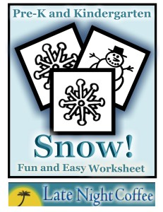 Snow Worksheet