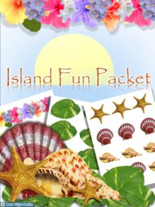 Island Fun Packet for Paper Crafts