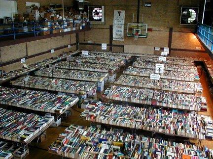 St. Louis YMCA Book Fair-Aug.20-25-One MILLION books!! AND