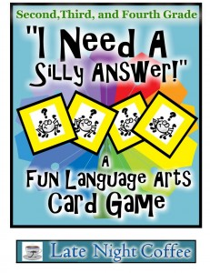 """I Need a Silly Answer!"" Game"